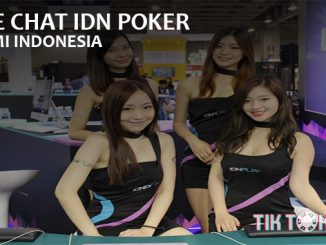 Live Chat IDN Poker Resmi Indonesia